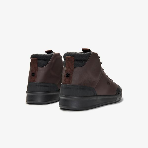 Lacoste Men's Explorateur Classic Leather Chukkas