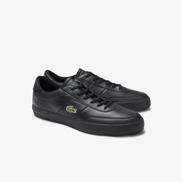 Lacoste Men's Court-Master Leather Sneakers