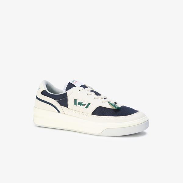 Lacoste Men's G80 Og Leather And Textile Sneakers