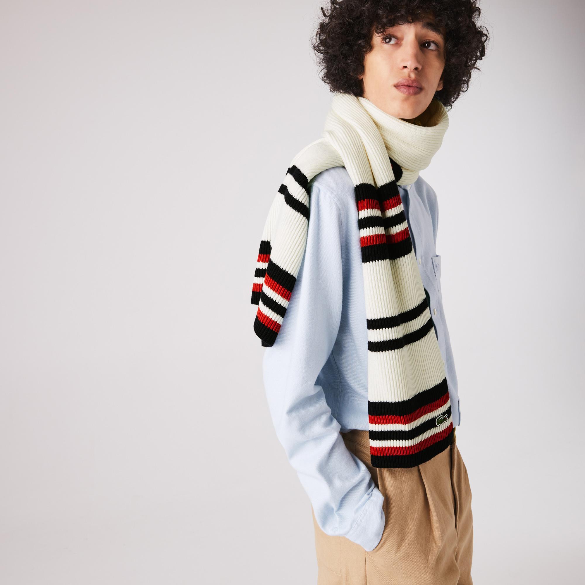 Lacoste шарф чоловічий Made In France