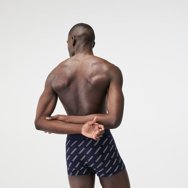 Lacoste Men's Stretch Cotton Trunk 3-Pack