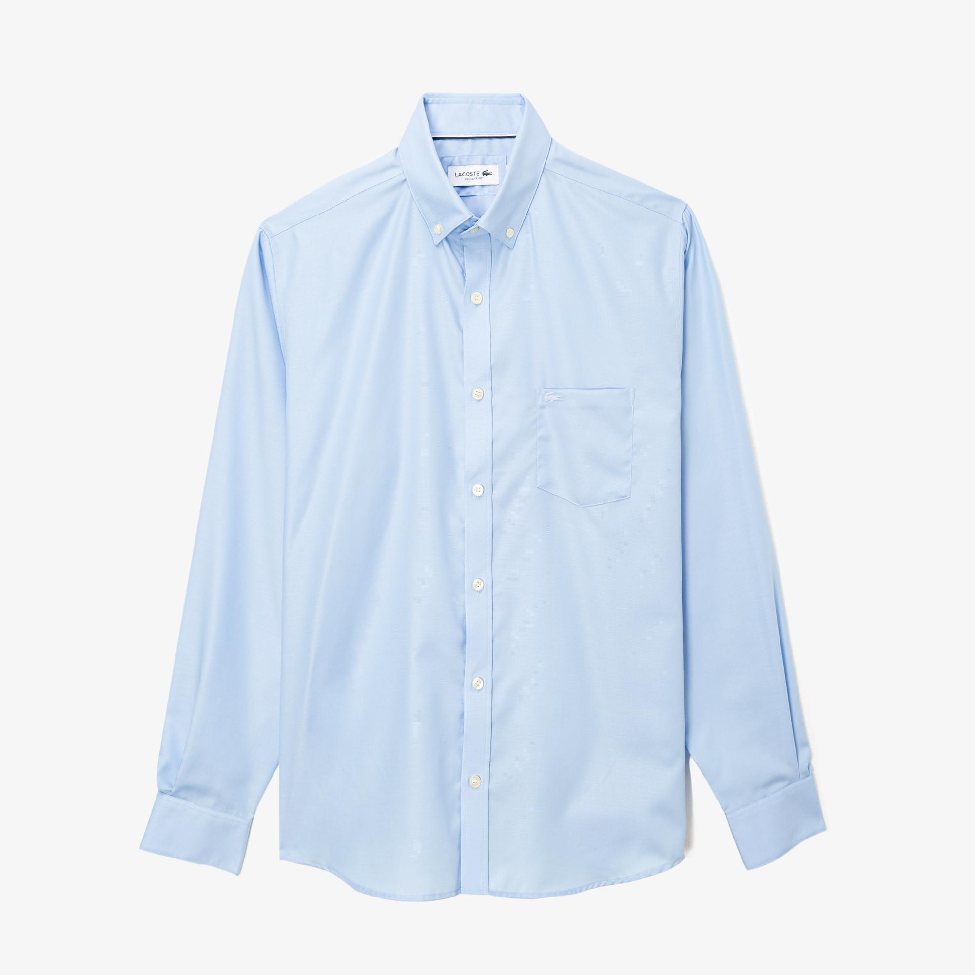 Lacoste Men's Regular Fit Cotton Mini Piqué Shirt