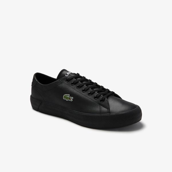 Lacoste Men's Gripshot Leather and Synthetic Sneakers