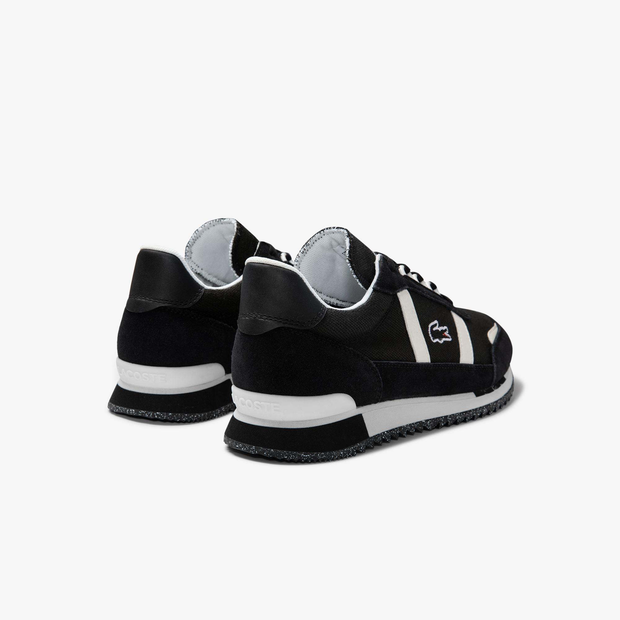 Lacoste Women's Partner Retro Canvas and Suede Sneakers