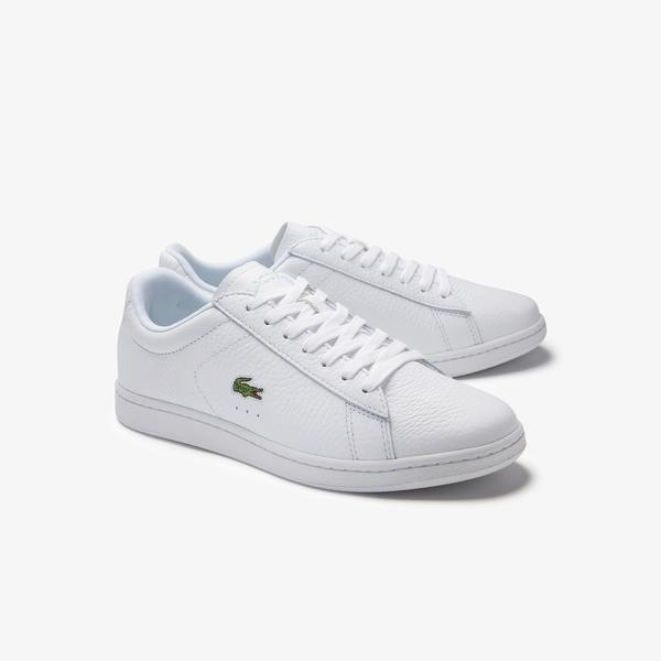 Lacoste Women's Carnaby Evo Layered Leather Sneakers