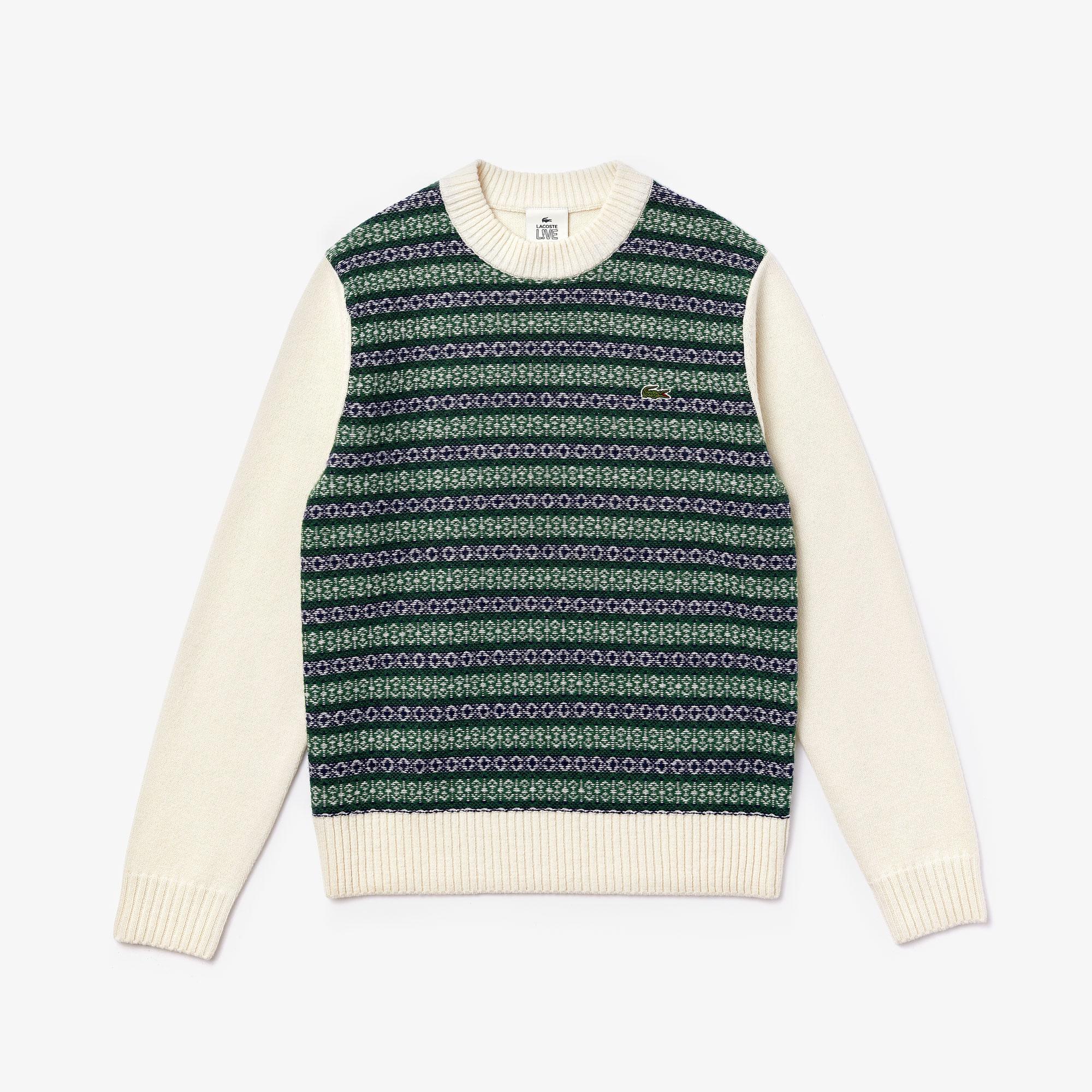 Lacoste светр унісекс LIVE з круглим вирізом