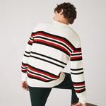 Lacoste светр чоловічий Made in France з круглим вирізом