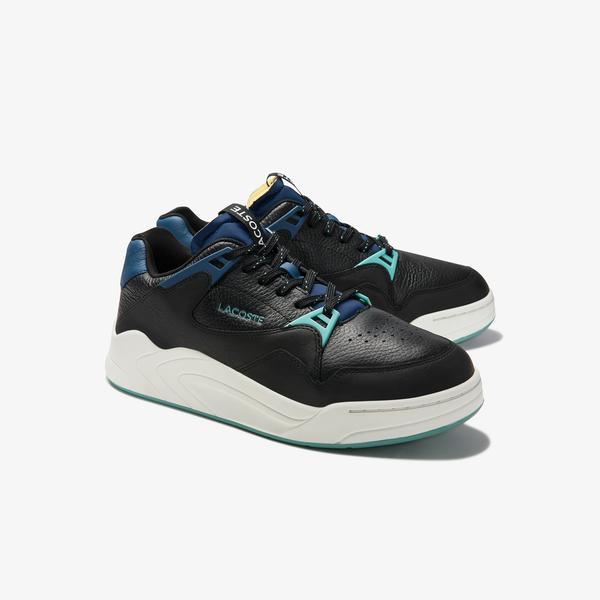 Lacoste Men's Court Slam Leather Sneakers