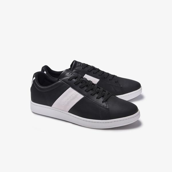 Lacoste Men's Carnaby Evo Pigmented Leather Sneakers