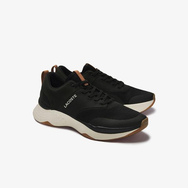 Lacoste Men's Court-Drive Plus Colourblock Textile Sneakers
