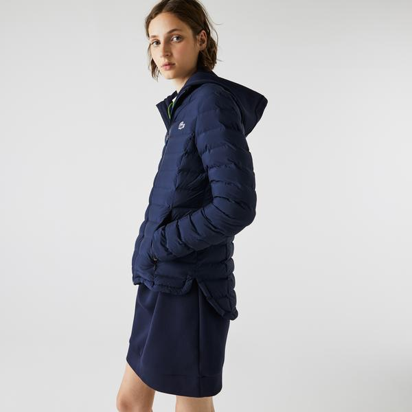 Lacoste Women's SPORT Lightweight Quilted Zip Jacket