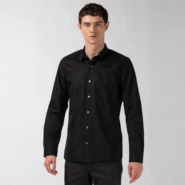 Lacoste Men's Regular Fit Premium Cotton Poplin Shirt