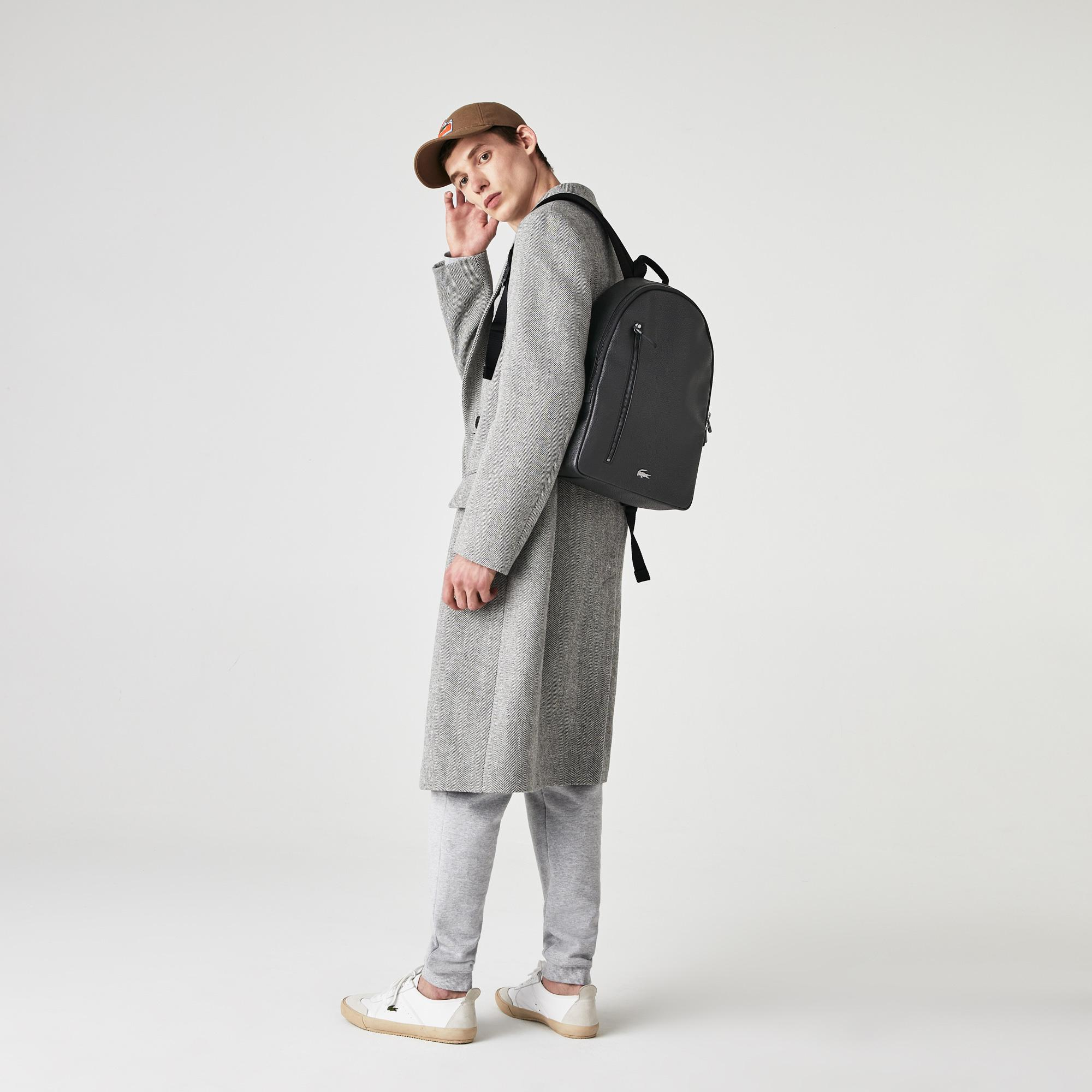 Lacoste рюкзак чоловічий Mate Matte шкіряний
