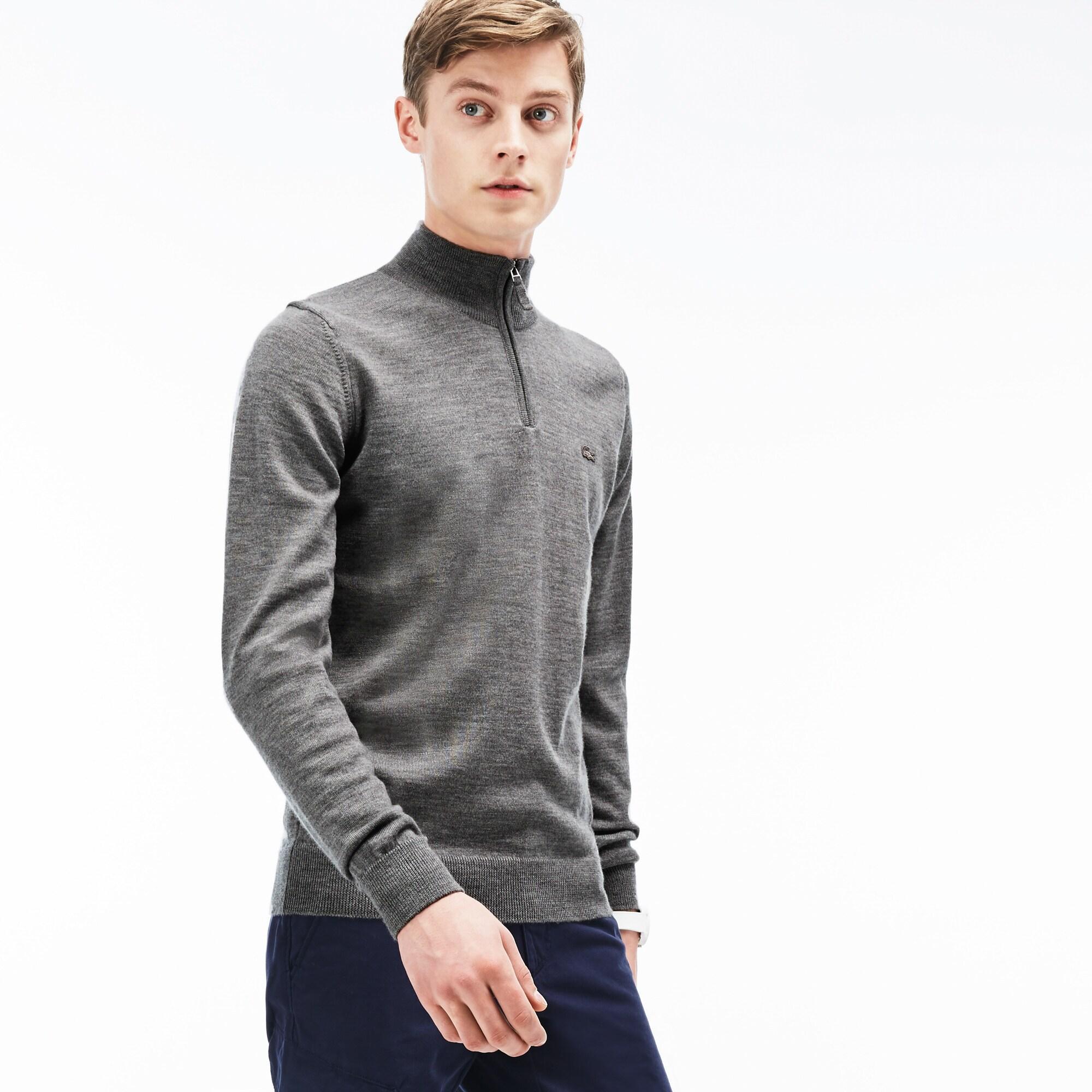 Lacoste светр чоловічий на блискавці