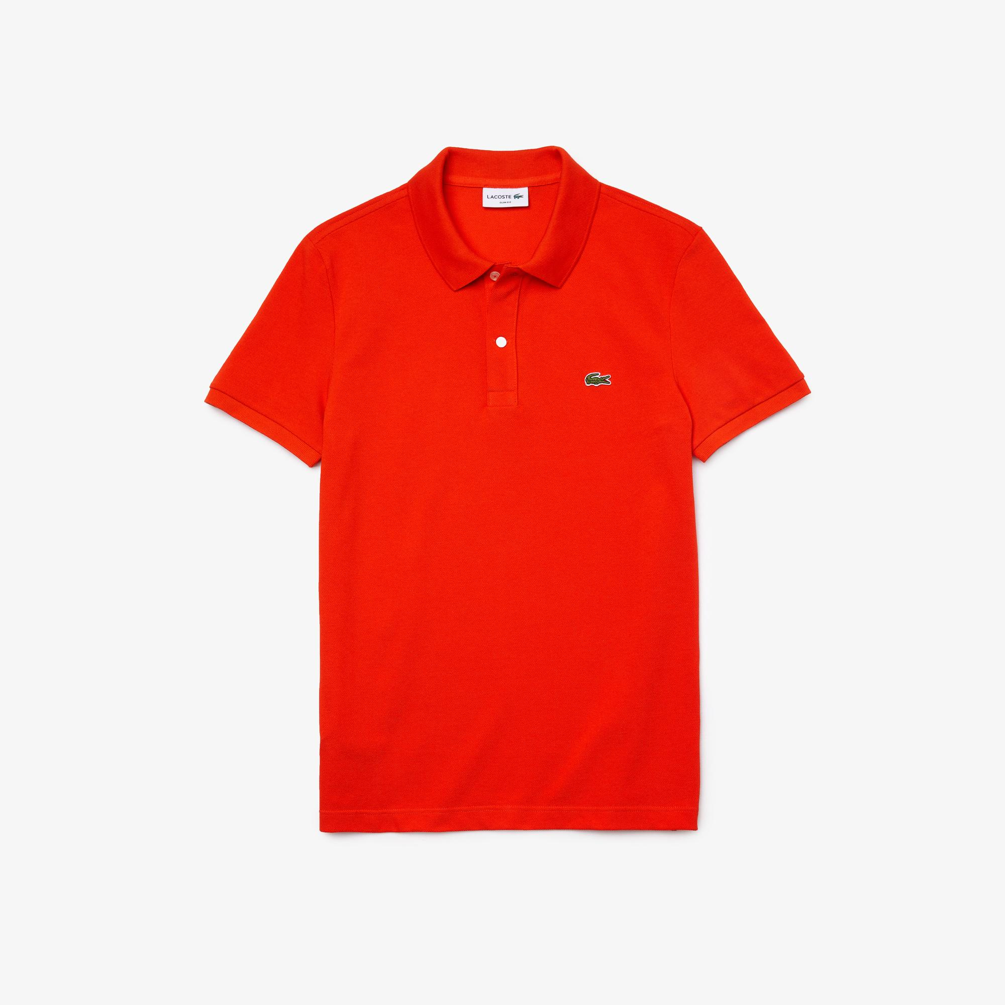 Lacoste Men's Slim Fit Polo İn Petit Piqué