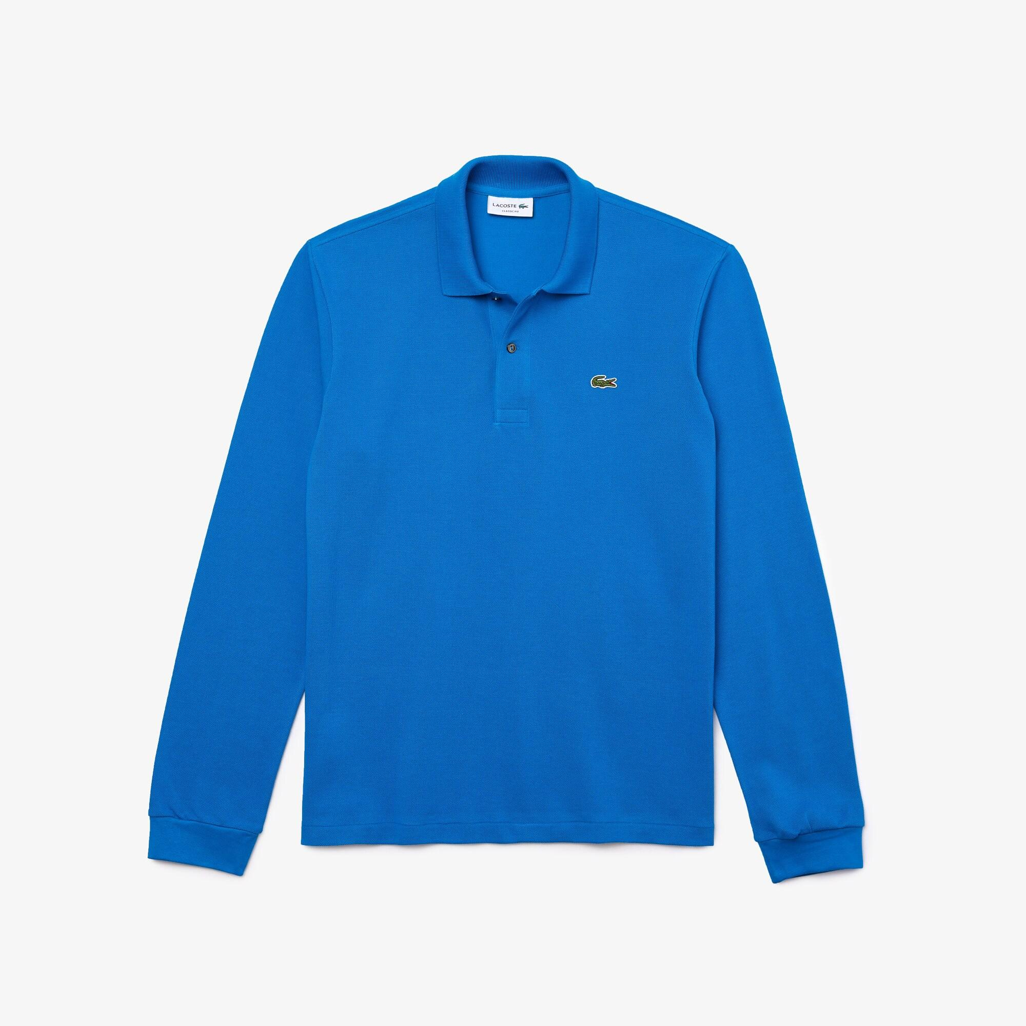 Lacoste Men's Long Sleeve Classic Fit L.13.12 Polo