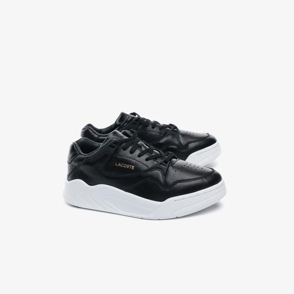 Lacoste Women's Court Slam High-shine Leather Sneakers
