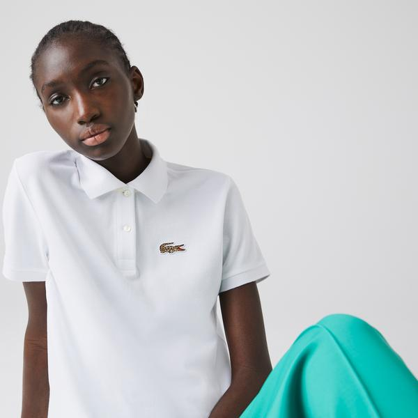 Lacoste Women's x National Geographic Cotton Piqué Polo Shirt