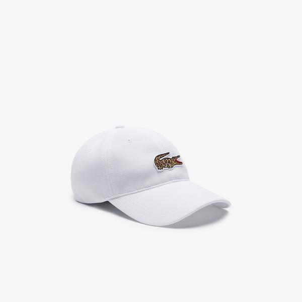 Lacoste x National Geographic Men's Cotton Piqué Cap