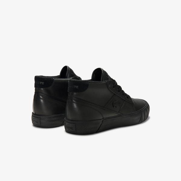 Lacoste Men's Gripshot Leather Chukkas