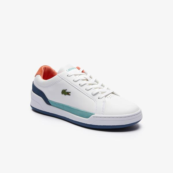 Lacoste Women's Challenge Leather and Suede Sneakers