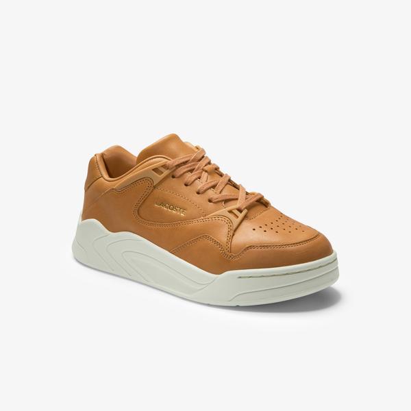 Lacoste Women's Court Slam Leather Sneakers