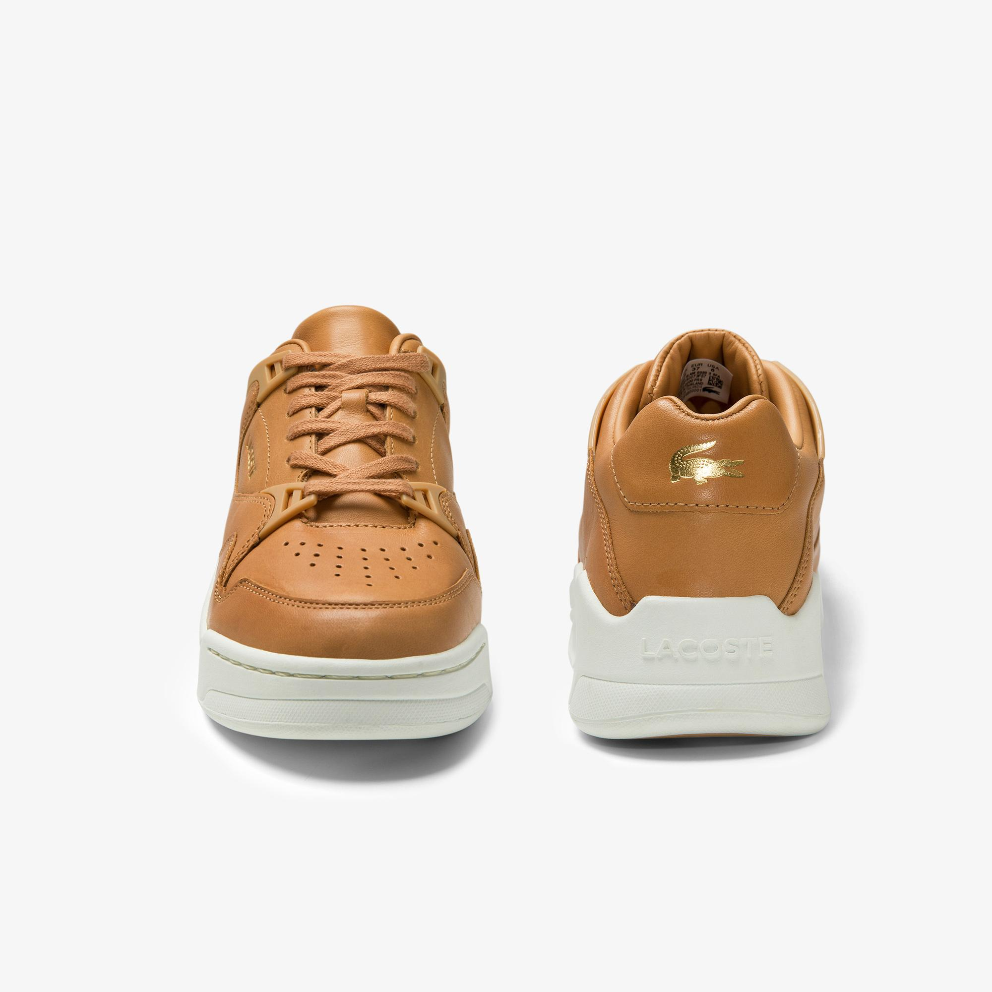 Lacoste Women's Court Slam Leather Sneakers