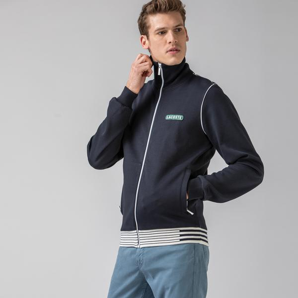 Lacoste Men's Heritage Zippered Tracksuit Jacket