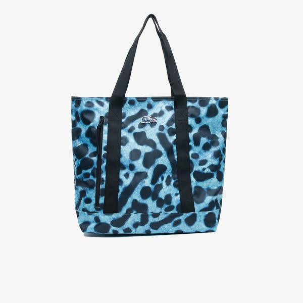 Lacoste Women's x National Geographic Animal Print Shopper