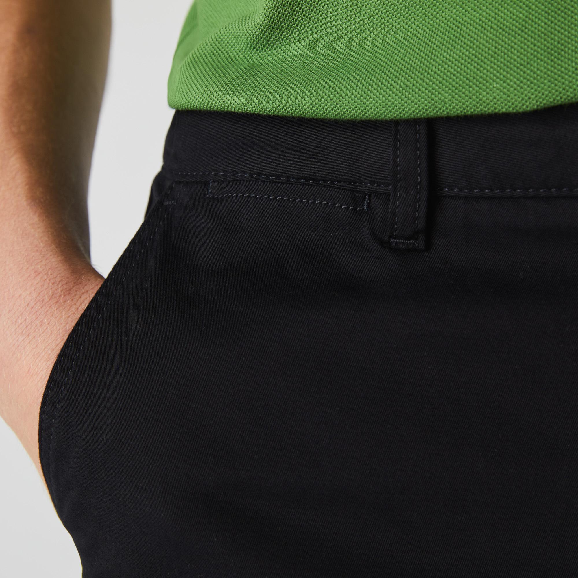 Lacoste Men's Slim Fit Stretch Gabardine Chino Pants