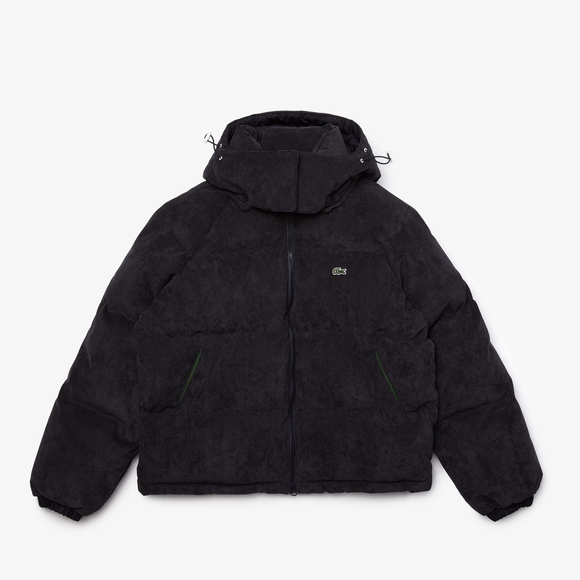 Lacoste Women's LIVE Ribbed Velvet Quilted Jacket