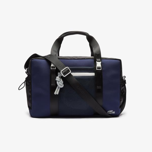 Lacoste Men's Motion Ultra-Light Zippered Gym Bag