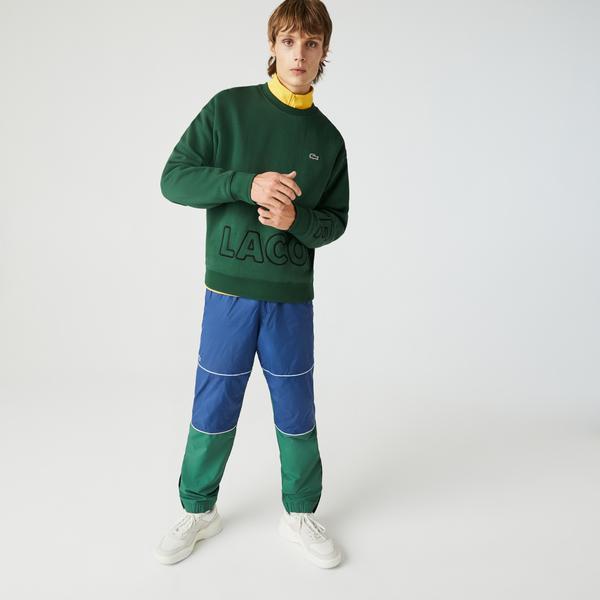 Lacoste Unisex LIVE Crew Neck Embroidered Cotton Blend Sweatshirt