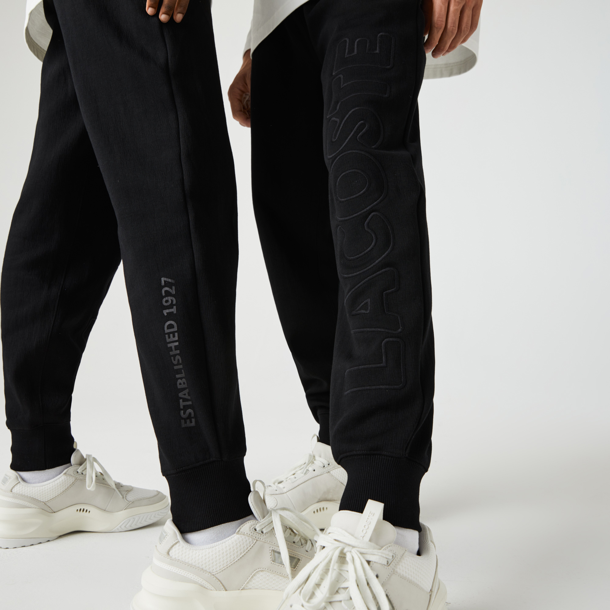 Lacoste Unisex LIVE Embroidered Cotton Blend Tracksuit Pants