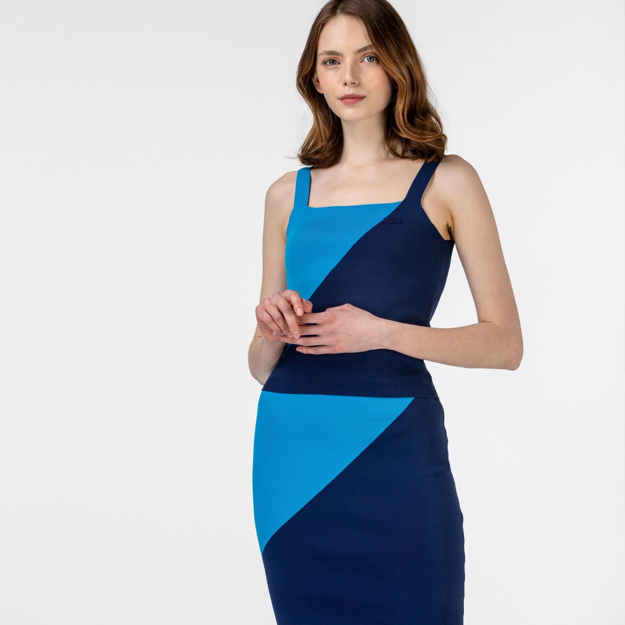 Lacoste светр-топ жіночий на бретелях