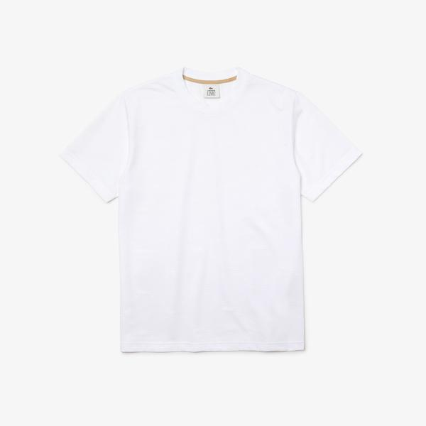 Lacoste Men's Lacoste LIVE Monogram Patterned T-shirt