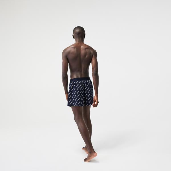 Lacoste Men's Ultra-Soft Cotton Boxer 3-Pack