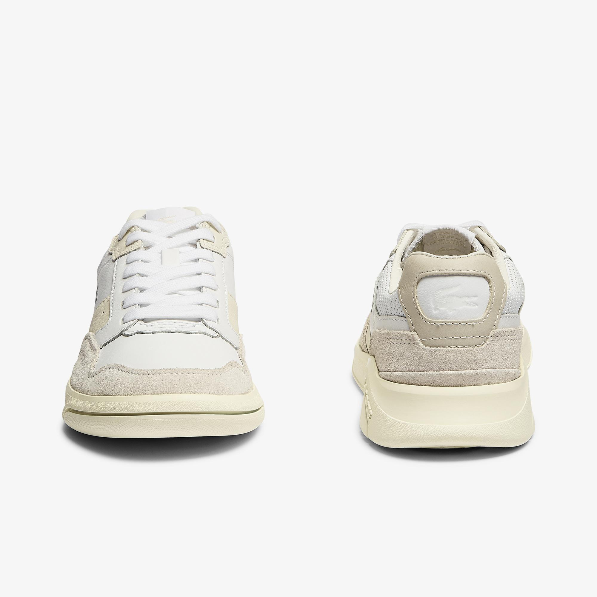 Lacoste Women's Game Advance Luxe Leather and Suede Trainers