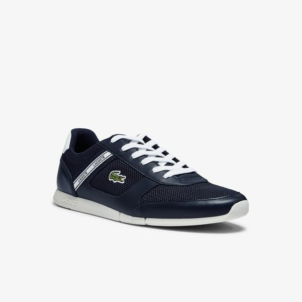 Lacoste Men's Menerva Sport Textile and Leather Trainers