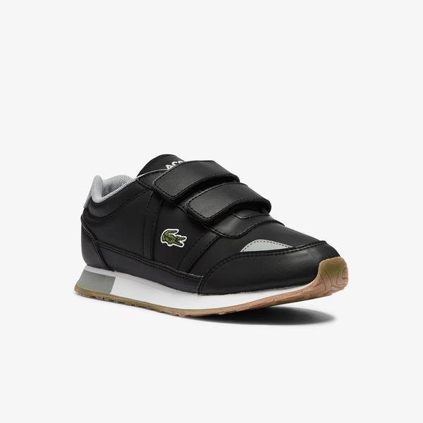 Lacoste Children's Partner Textile Trainers