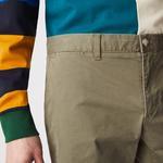 Lacoste Men's Slim Fit Stretch Gabardine Bermudas