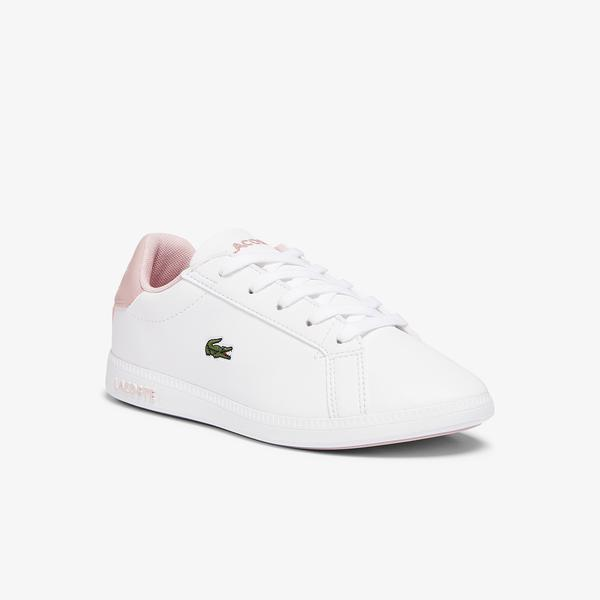Lacoste Children's Graduate Synthetic Trainers