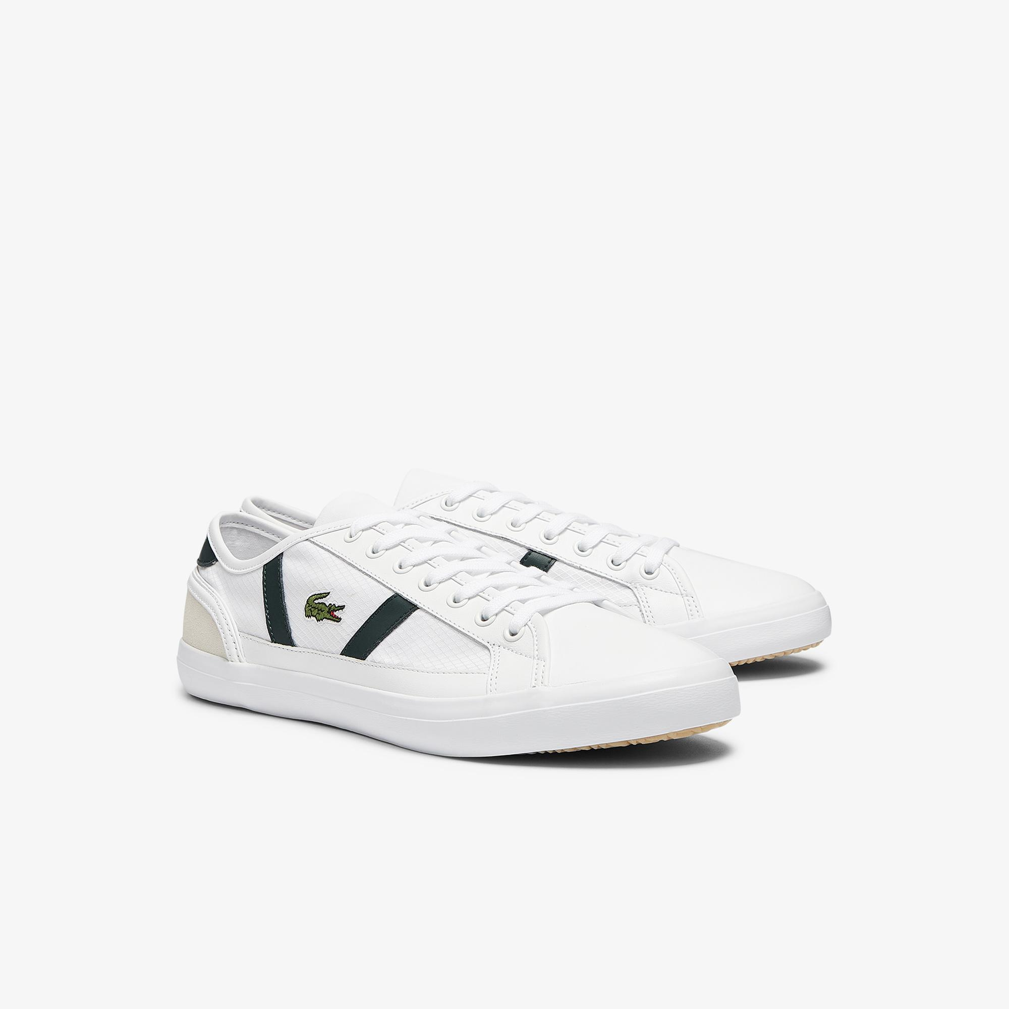 Lacoste Men's Sideline Textile and Leather Trainers