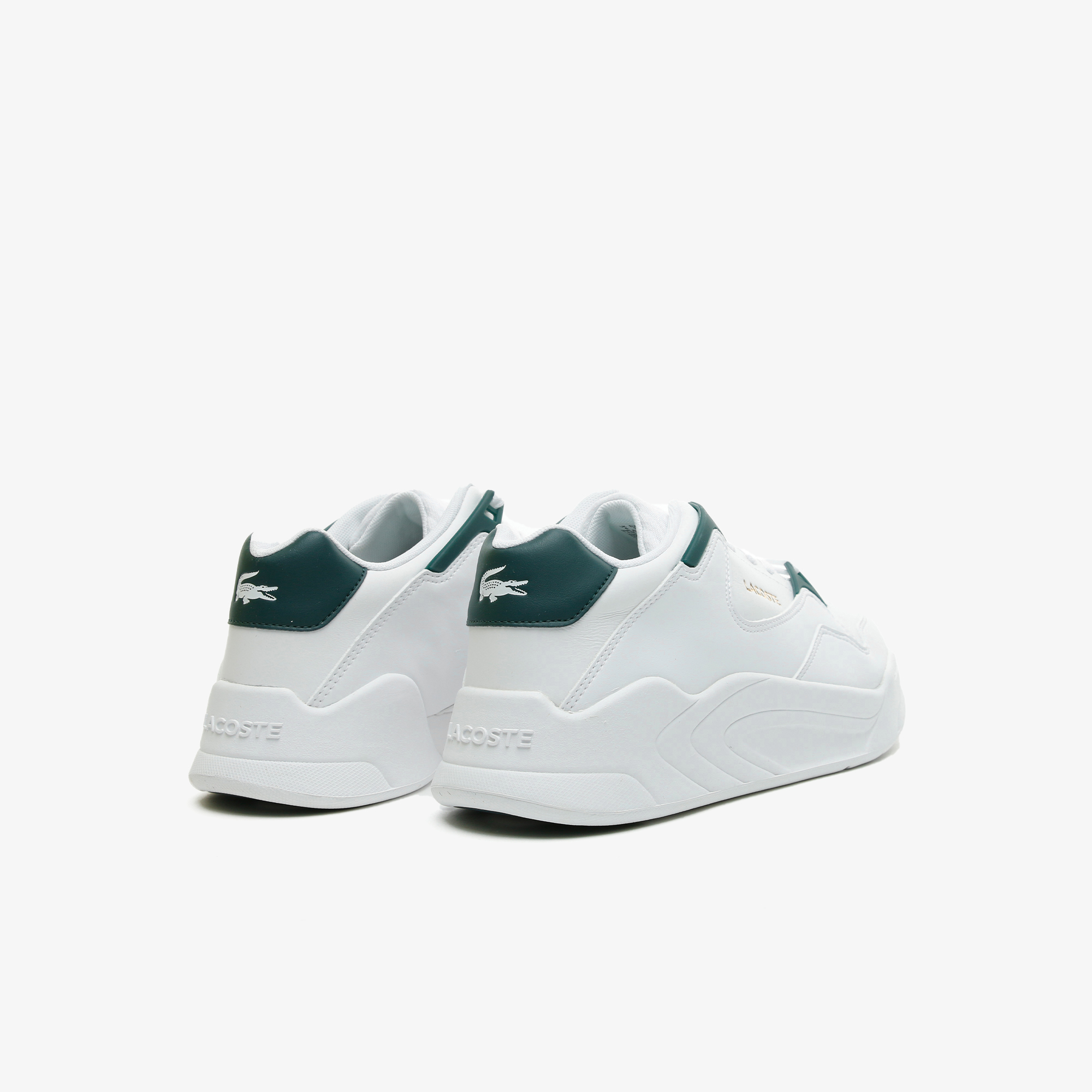 Lacoste Women's Court Slam Leather Trainers