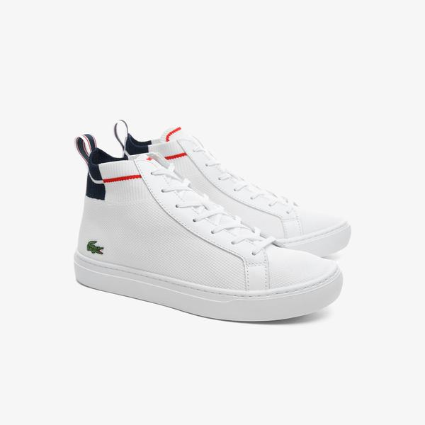 Lacoste La Pique sneakers in textile material for men
