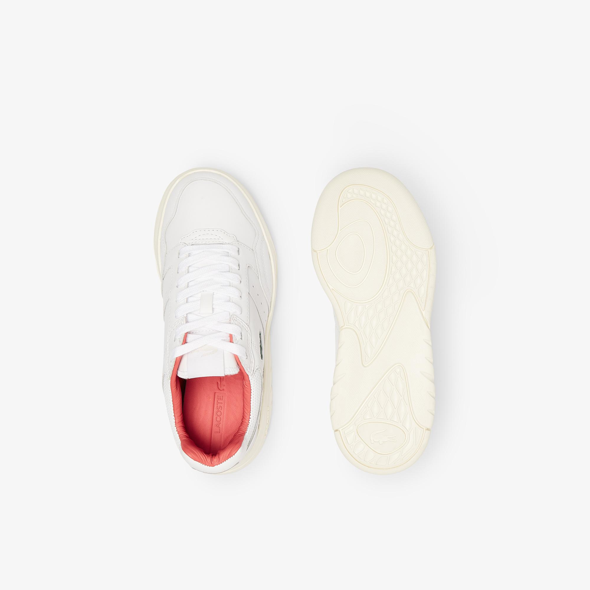 Lacoste Women's Game Advance Luxe Leather Trainers
