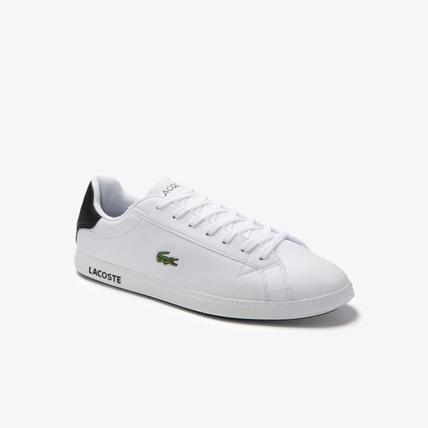 Lacoste Men's Graduate Leather Trainers