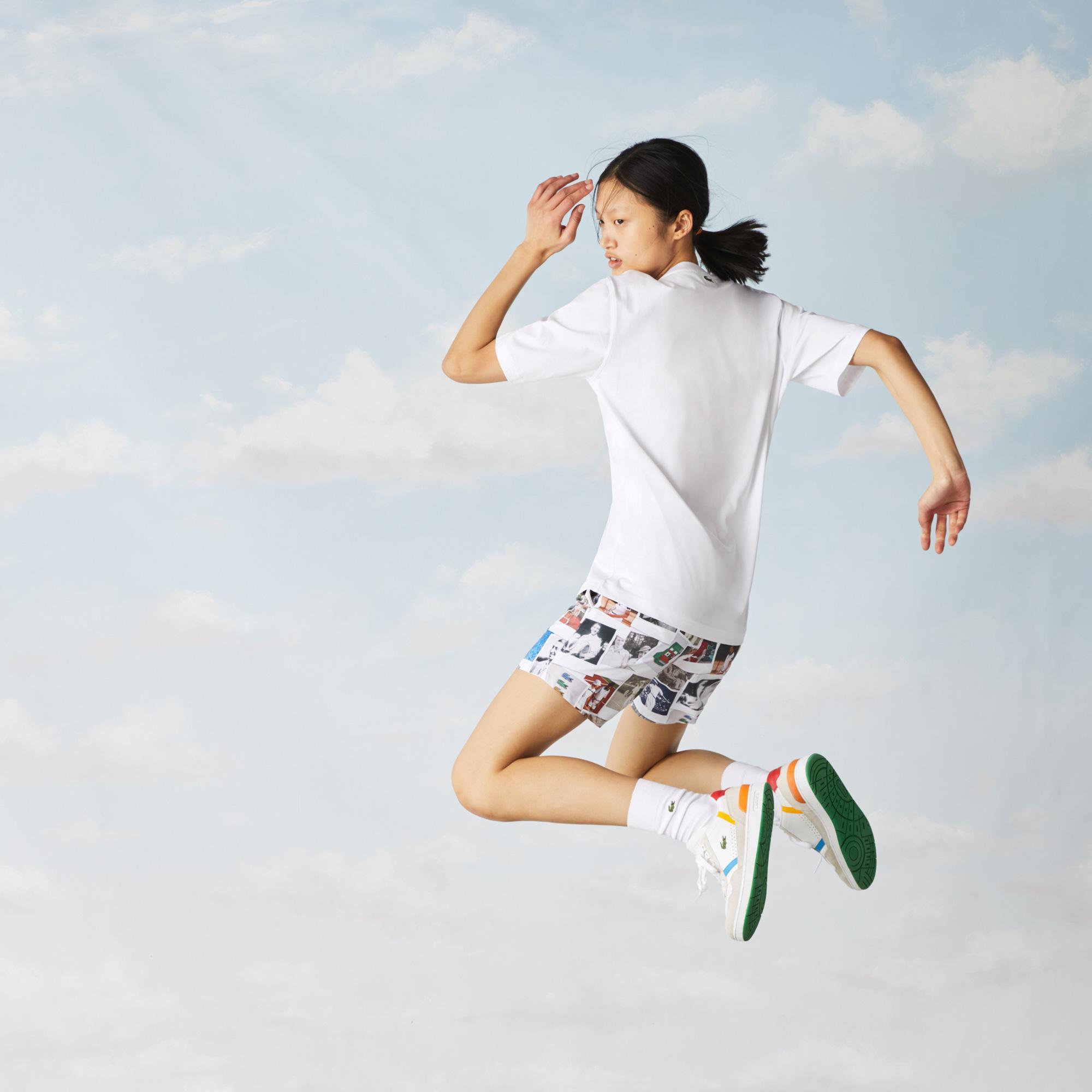 Lacoste футболка унісекс LIVE x Polaroid