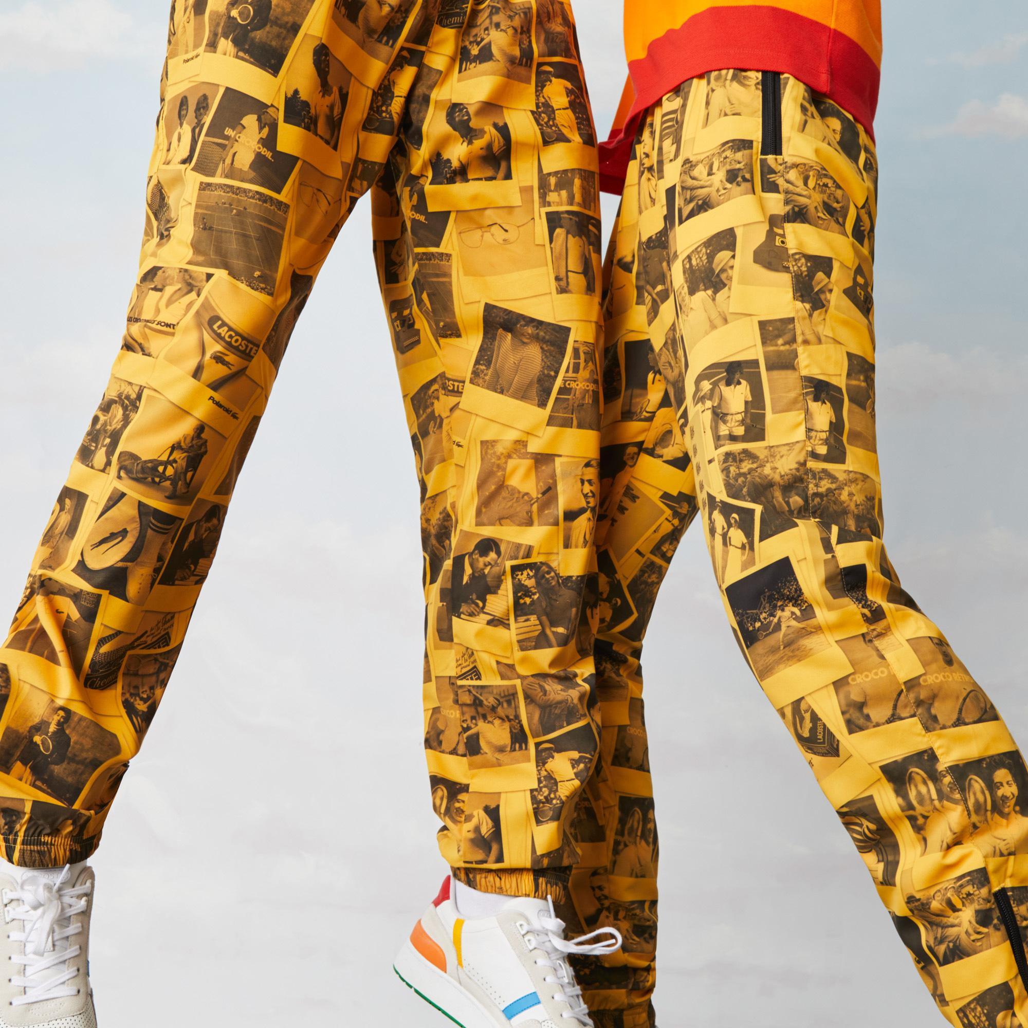 Lacoste штани унісекс LIVE x Polaroid