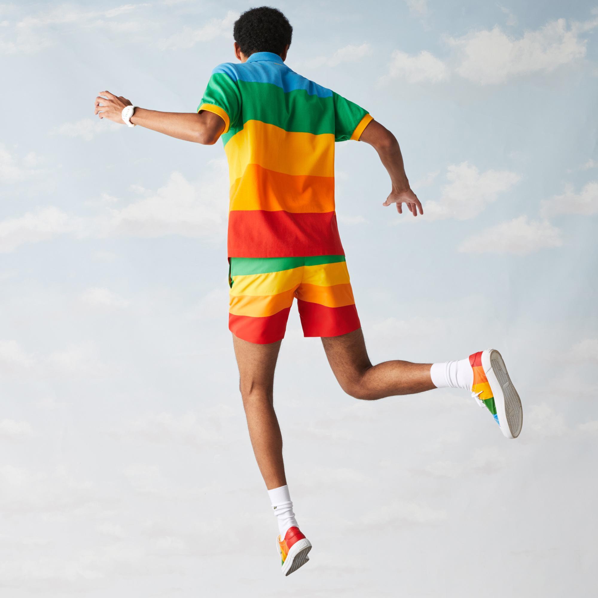 Lacoste поло чоловіче x Polaroid класичний крій